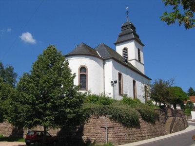 Kirche in heutigem Zustand