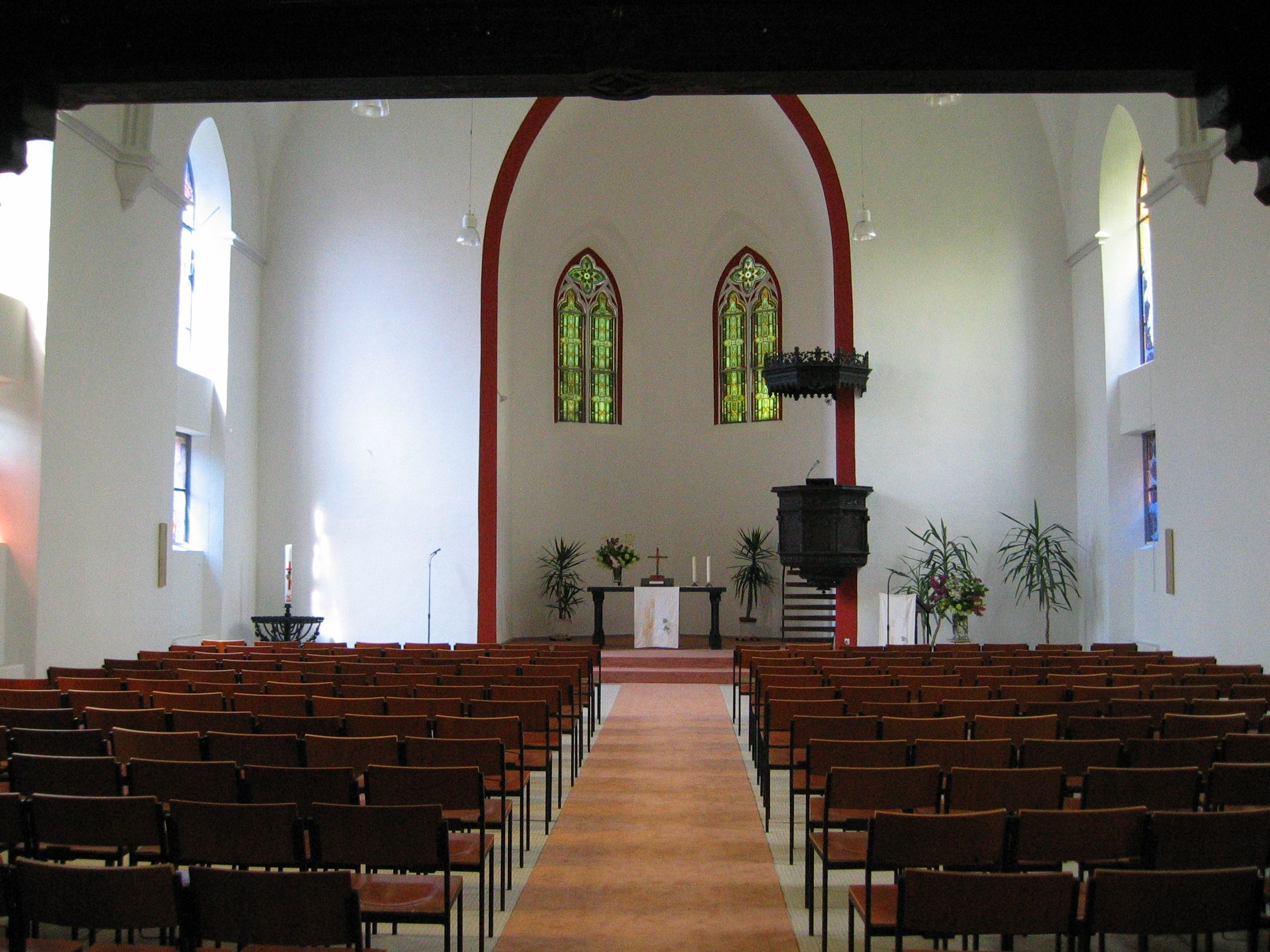 Baugeschichte der Evangelischen Kirche Landsweiler