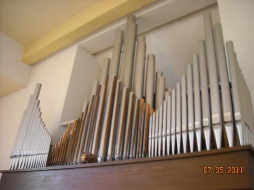 Orgel in der Kirche Klarenthal