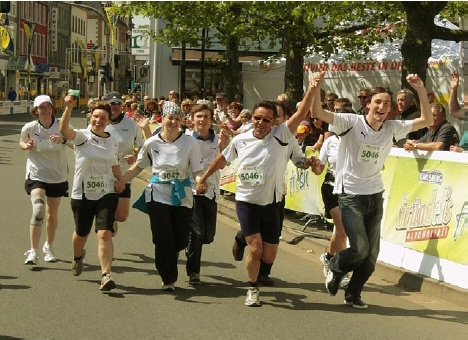 Marathon-Projekt 'Spirit Running'