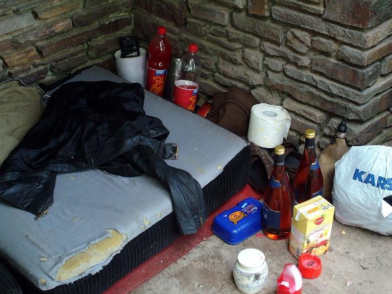 Wohnungslose Menschen brauchen ein Zuhause!