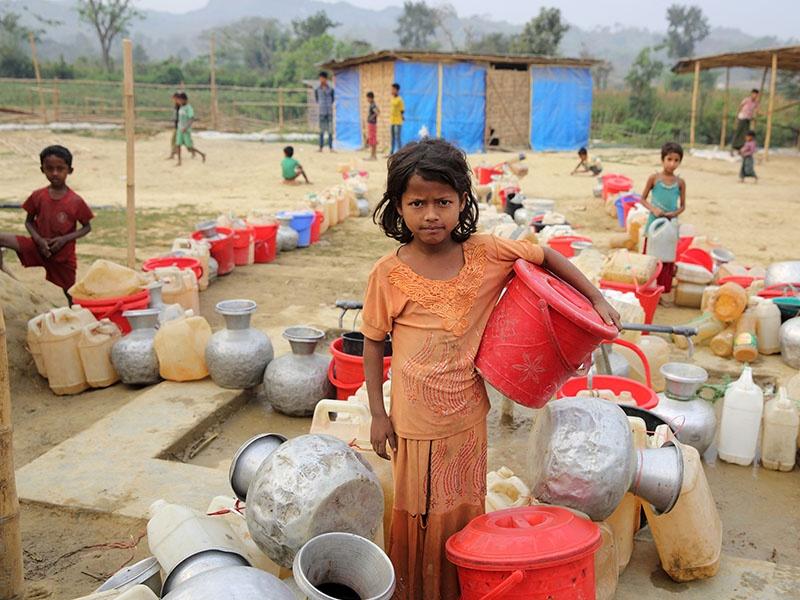 Die Corona-Pandemie verschärft die ohnehin schon große Not in armen Ländern dramatisch - internationale Hilfe ist nun gefragt. Foto: Emtiaz Ahmed Dulu / Diakonie Katastrophenhilfe