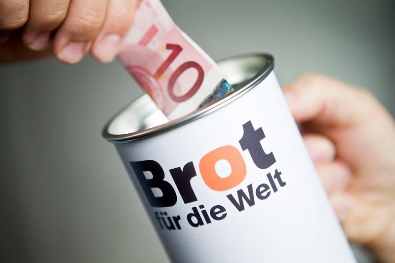 Saarländer spendeten 2019 gut 275.000 Euro an das Ev. Hilfswerk 'Brot für die Welt'