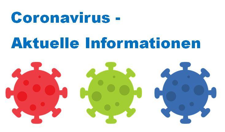 Coronavirus - Aktuelle Informationen