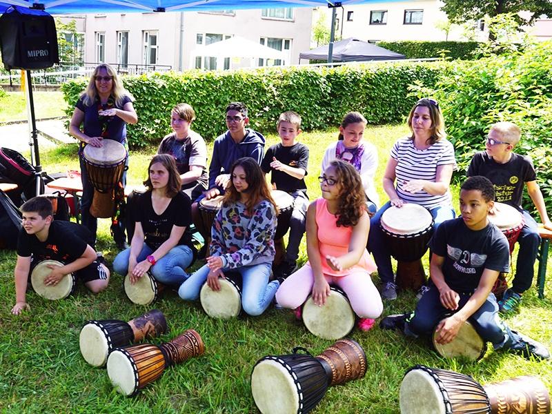 Kinderfest in Dudweiler. Foto: Diakonie Saar