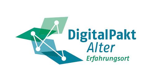 """Der """"DigitalPakt Alter"""" ist eine Initiative von der Bundesarbeits-gemeinschaft der Seniorenorganisationen (BAGSO) und dem Bundesministerium für Senioren (BMFSFJ)"""