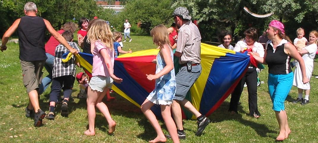 Sommerfest im Bürgerpark