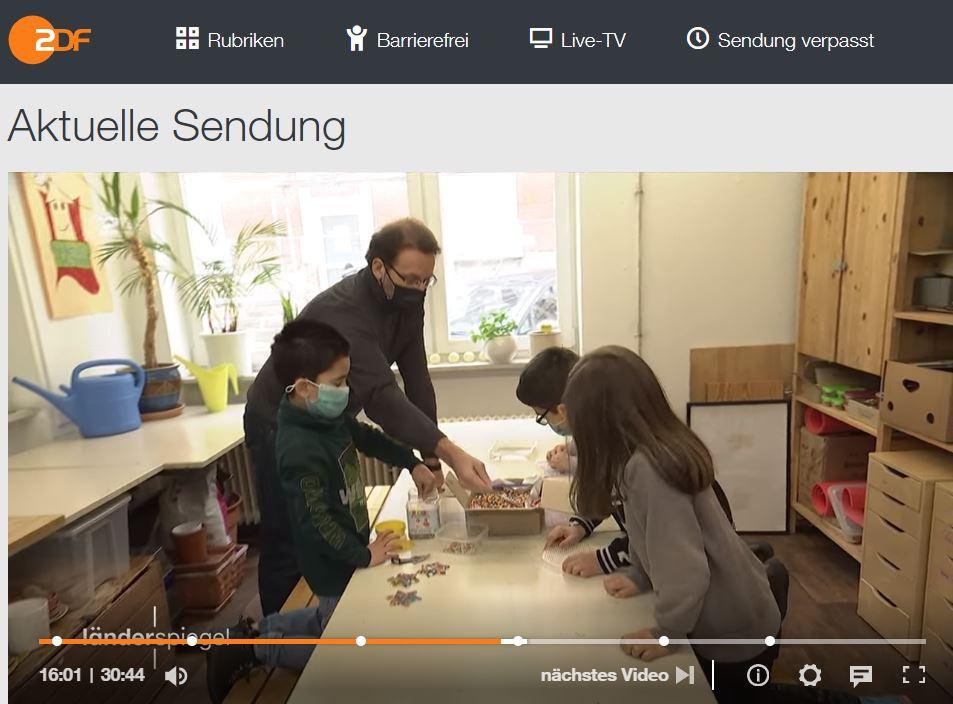 Foto: Länderspiegel, 13. Februar, ZDF Mediathek