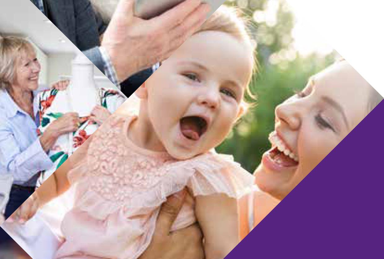 Das Foto zeigt einen Ausschnitt der Titelseite des Programmheftes 2021 der Evangelischen Familienbildungsstätte.
