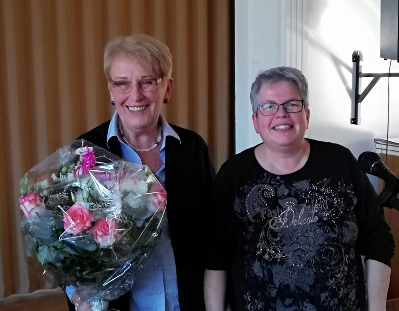 Heidi Walbrodt und Petra Schmidt
