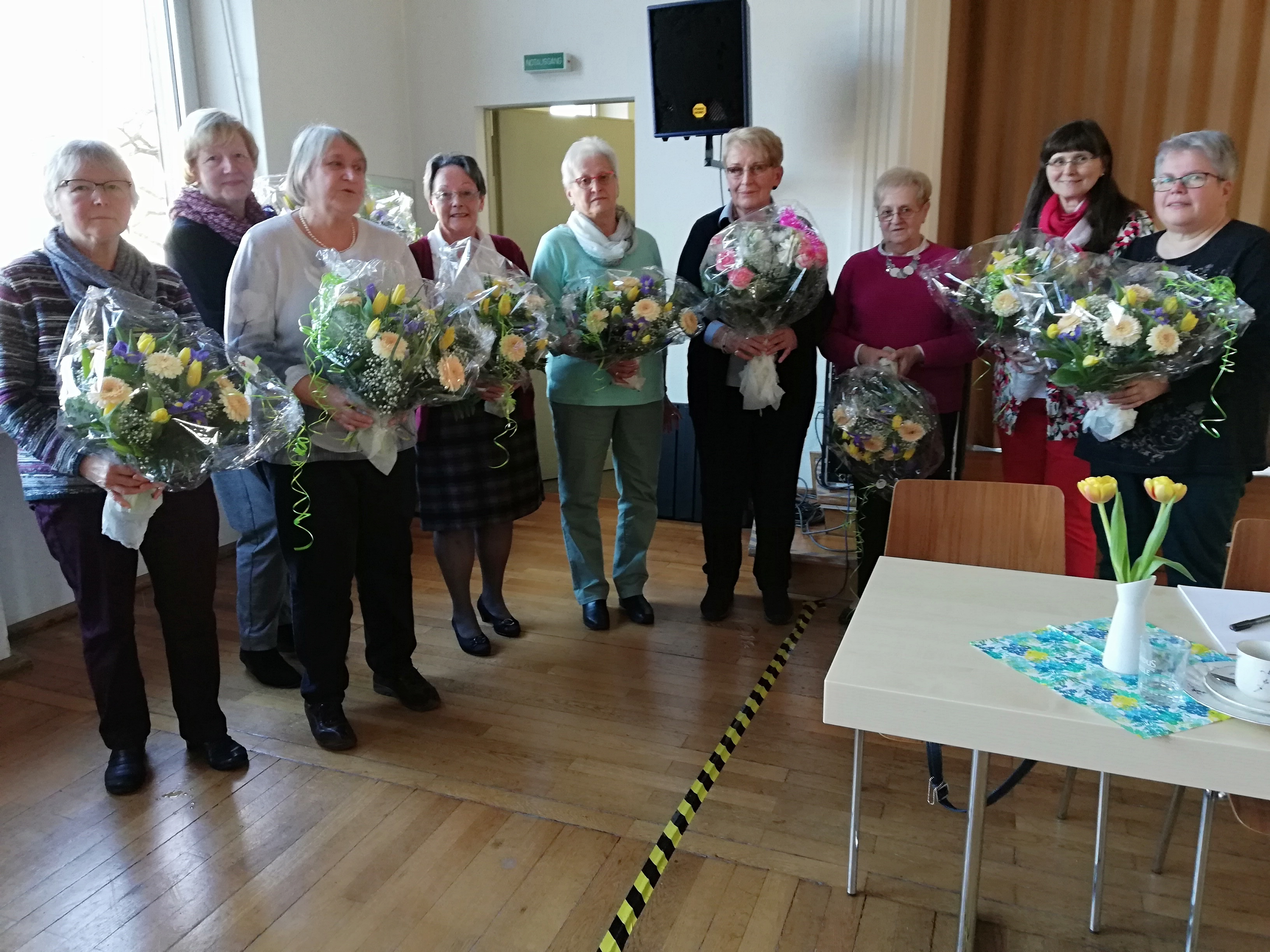 Der neue Vorstand des Kreisverbandes Ottweiler der Ev. Frauenhilfe im Rheinland