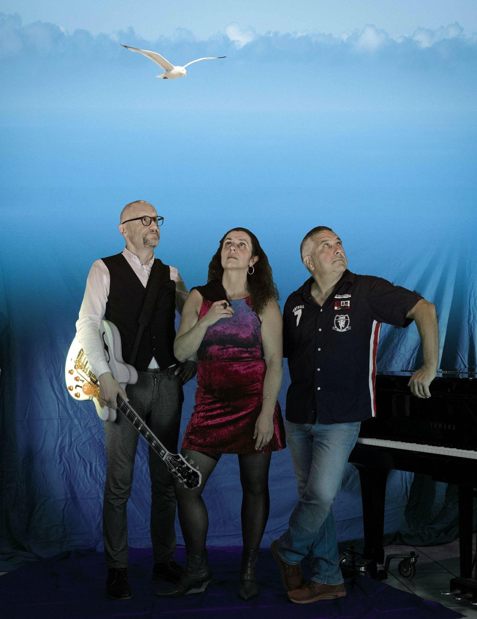 Haste Töne mit dem Blues-Trio Real Blue  Freitag, 13. März
