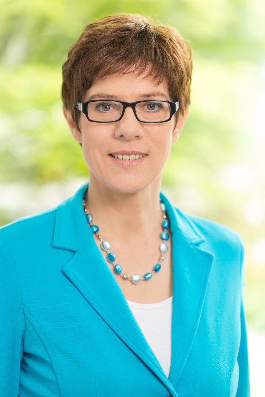 Grußwort der Schirmherrin Annegret Kramp-Karrenbauer, Ministerpräsidentin des Saarlandes