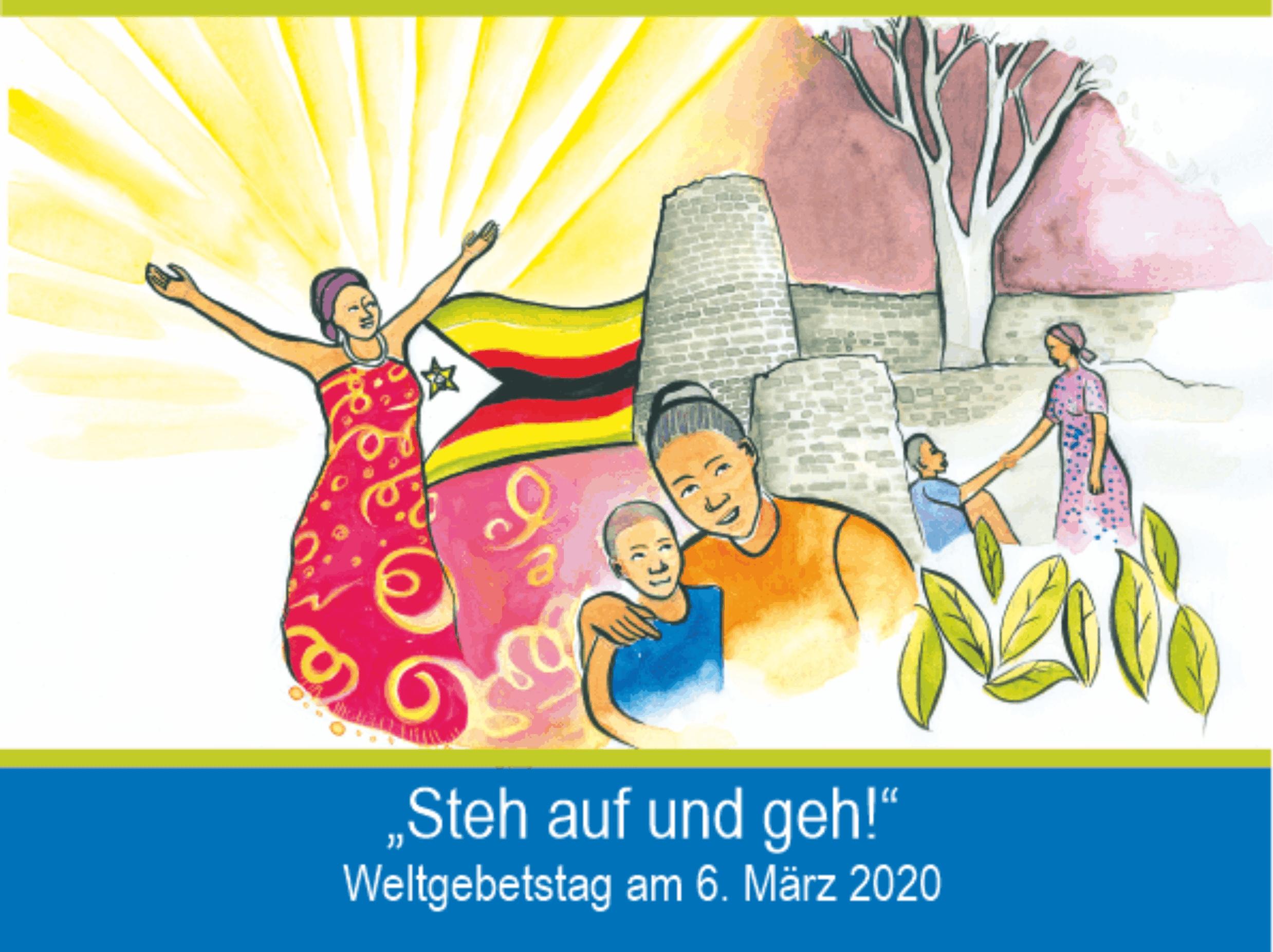 STEH AUF UND GEH! Weltgebetstag am 6. März 2020