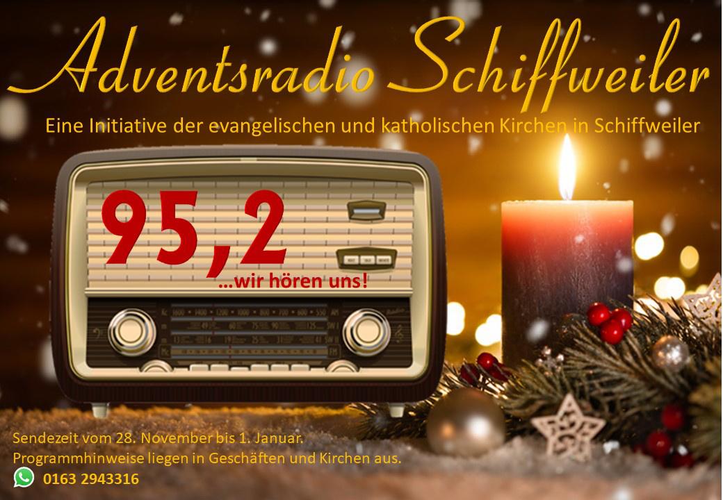 Adventsradio Schiffweiler 95,2 - Wir hören uns!