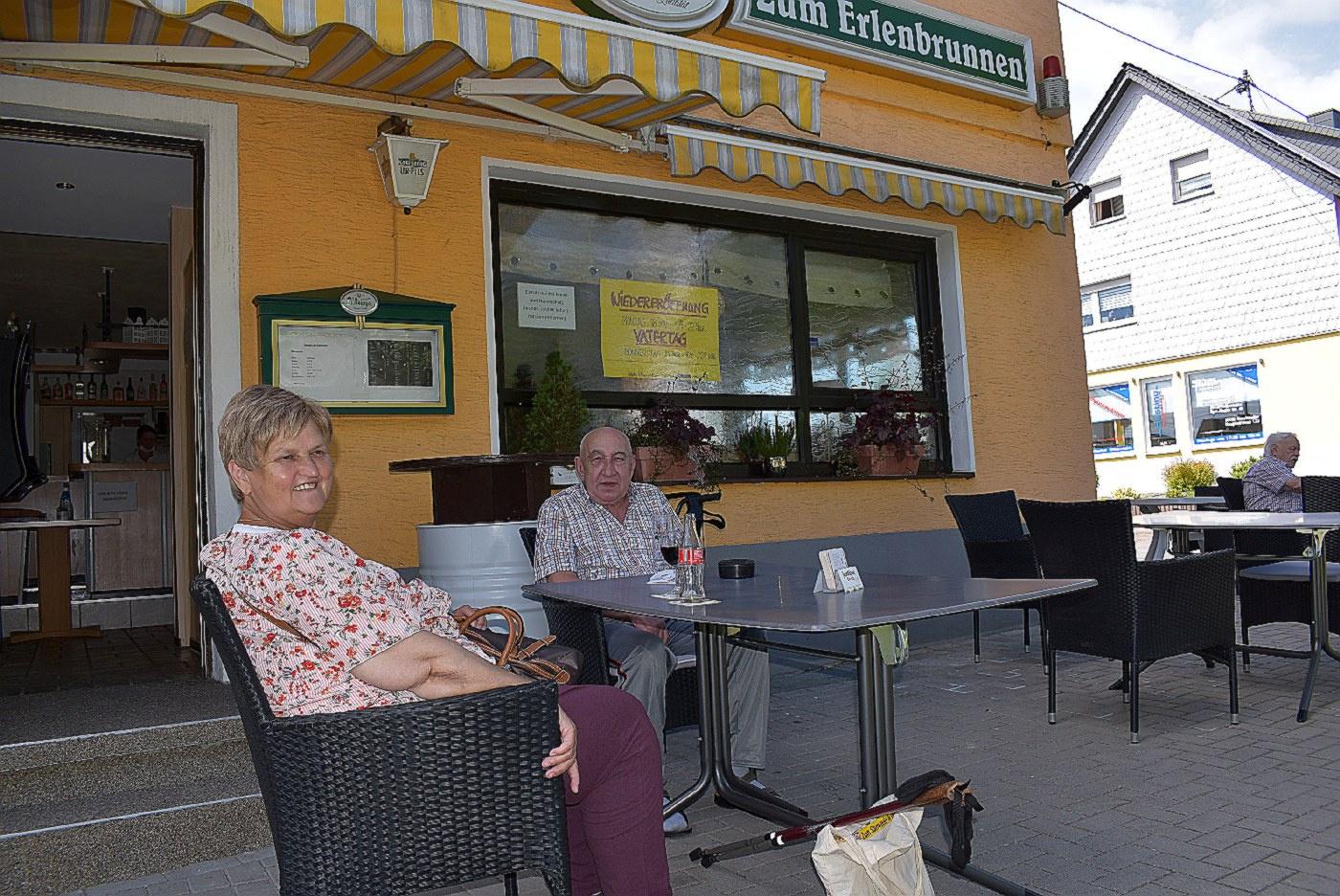 Die kleine Kneipe 'Erlenbrunnen' in Neunkirchen-Furpach (Foto: U. Schmidt)