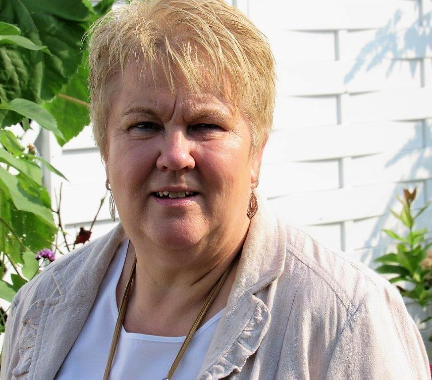 Vorsitzende der Frauengruppe Mosaik: Anette Weber, Pfarrerin