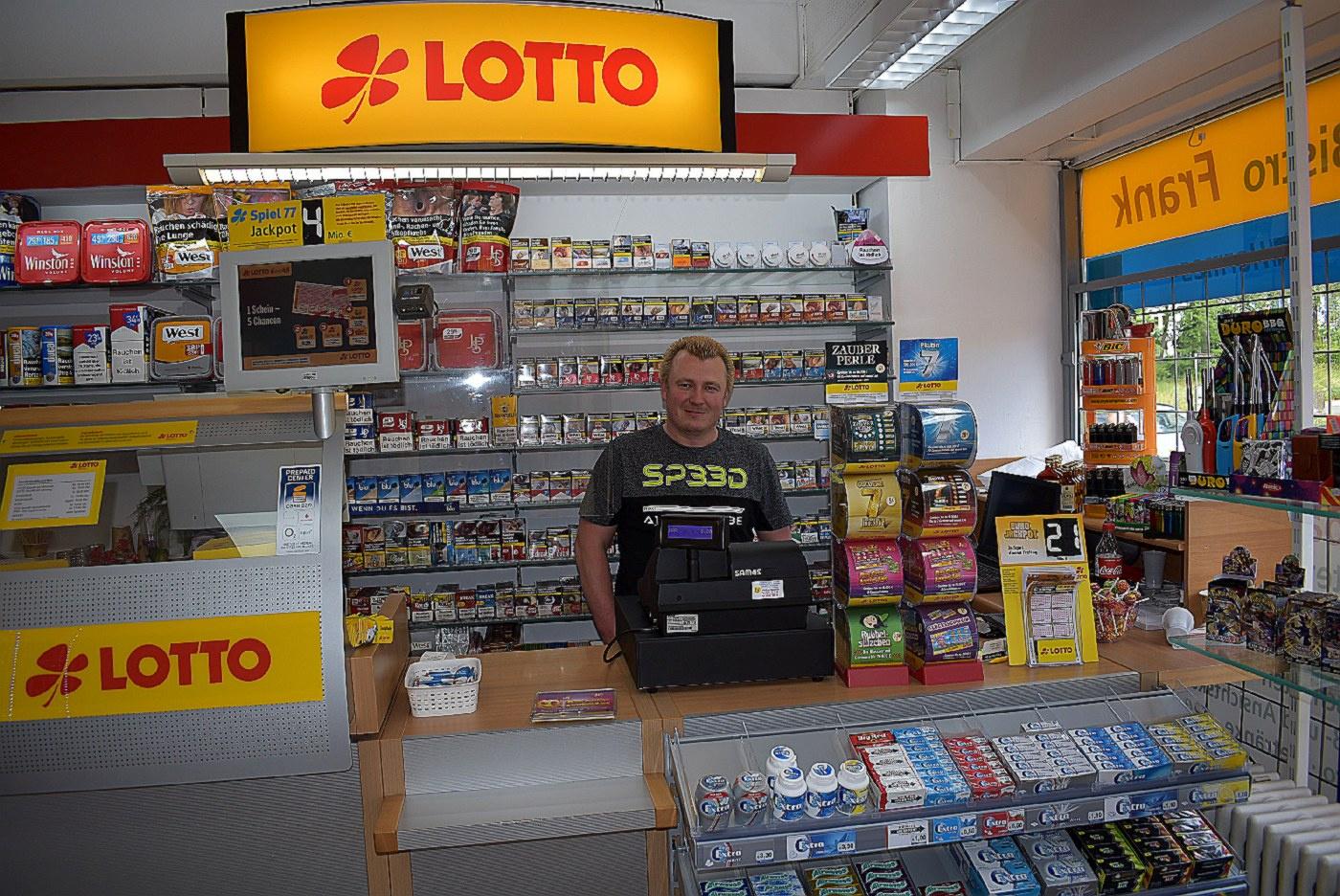 Björn Frank in seinem Laden