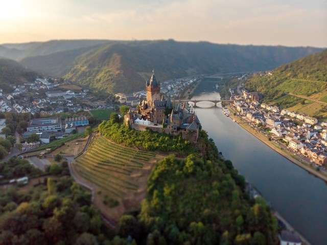 Cochem, Burg Reichsburg (Foto: Pixabay Licence)