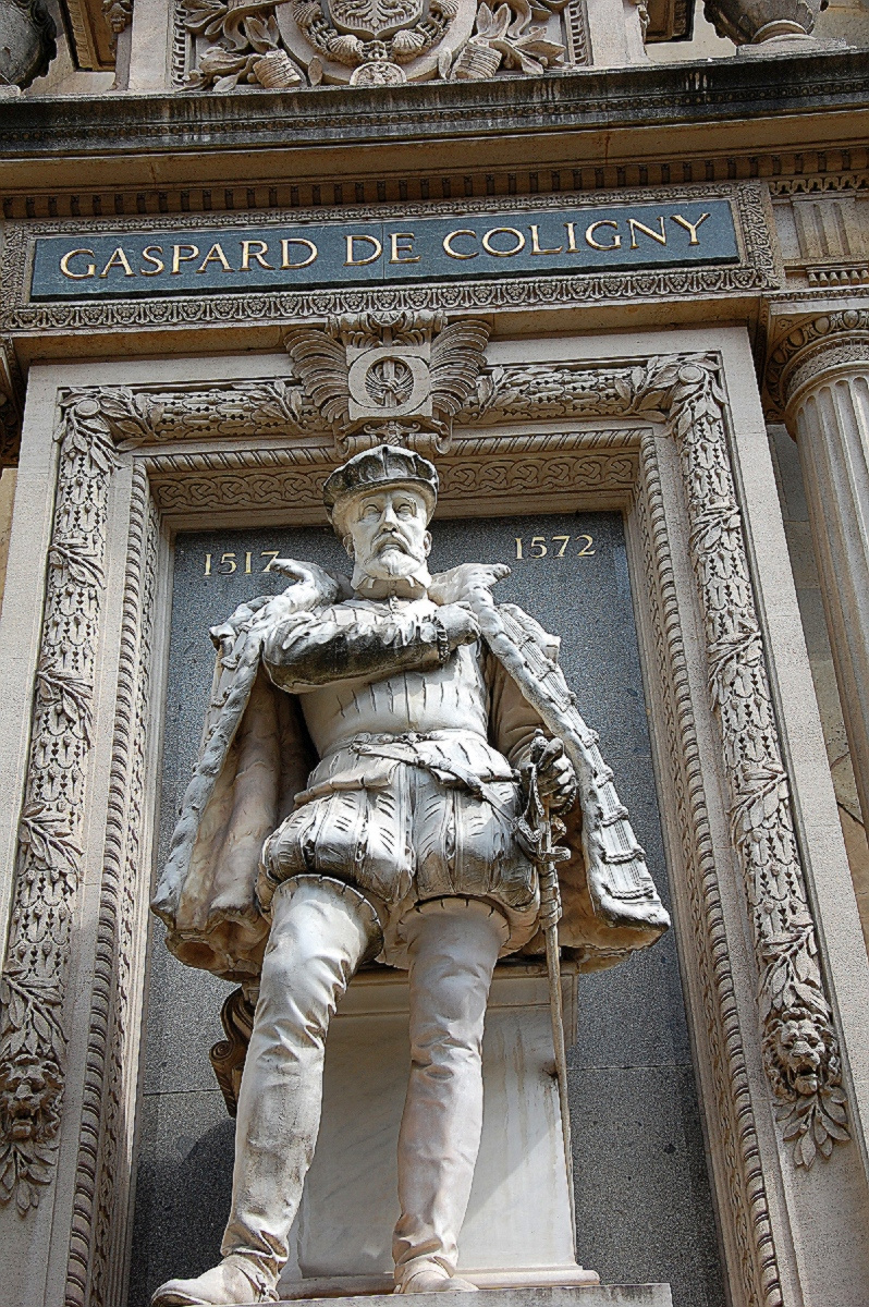 GASPARD DE COLIGNY 1517 -1572