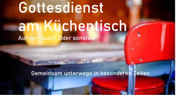 Gottesdienst am Küchentisch