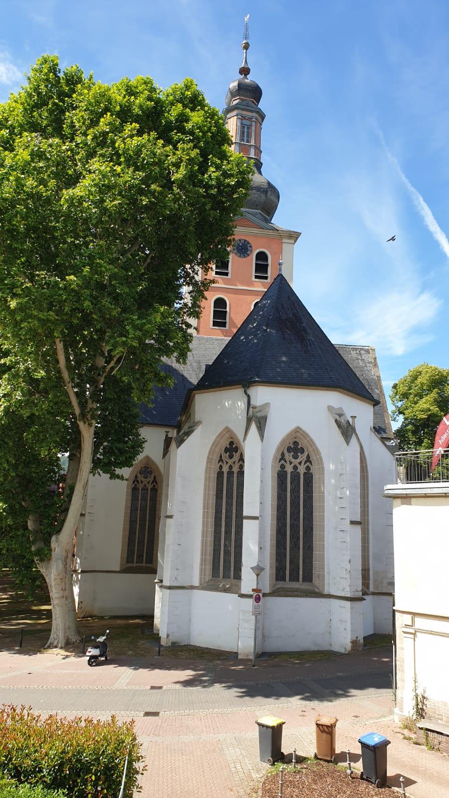 Die Pauluskirche in Bad Kreuznach mit etwa 1200 Sitzplätzen
