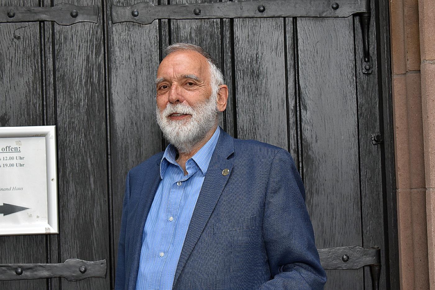 Pfarrer i.R. Max Krumbach aus Zweibrücken referierte im Männerkreis (Foto: U. Schmidt)