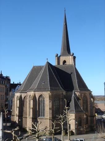 Ev. Christuskirche Neunkirchen-Innenstadt (Foto: H.-J. Strack)