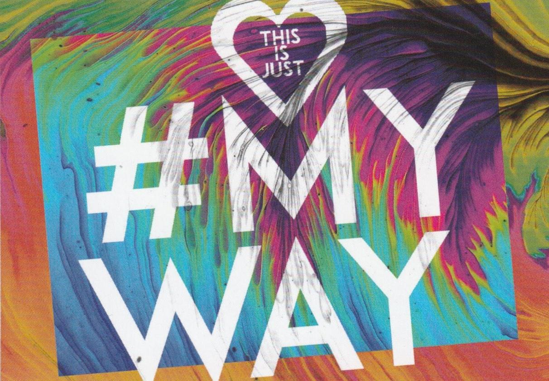 "Logo zum Musikvideo ""My Way"""