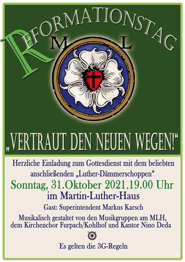Plakat zum Reformationstag (Uwe Schmidt)