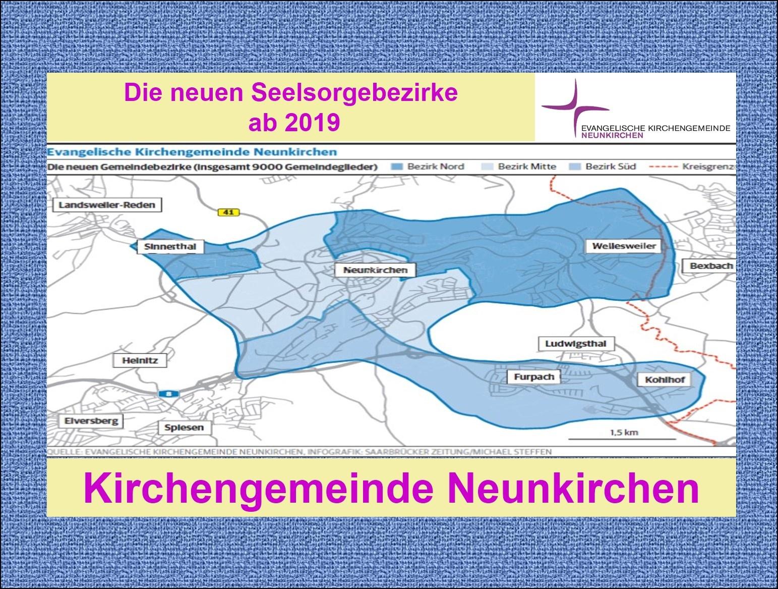 2019-NK-Neue Seelsorgebezirke Neunkirchen
