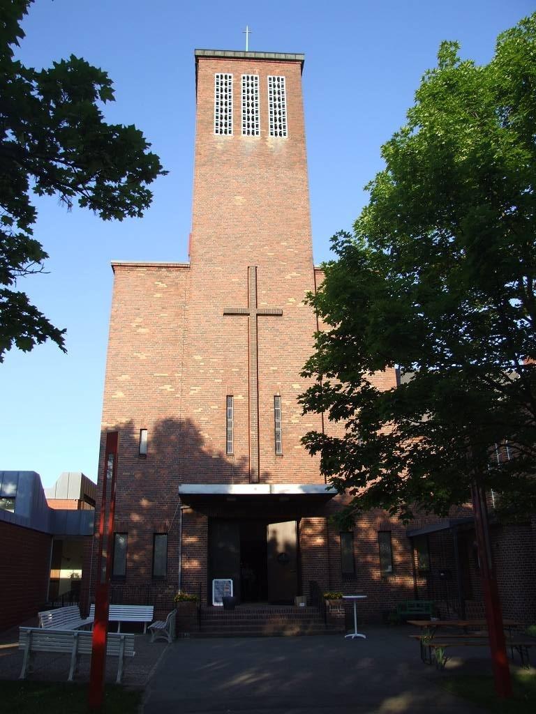 Die Kirche von Klarenthal