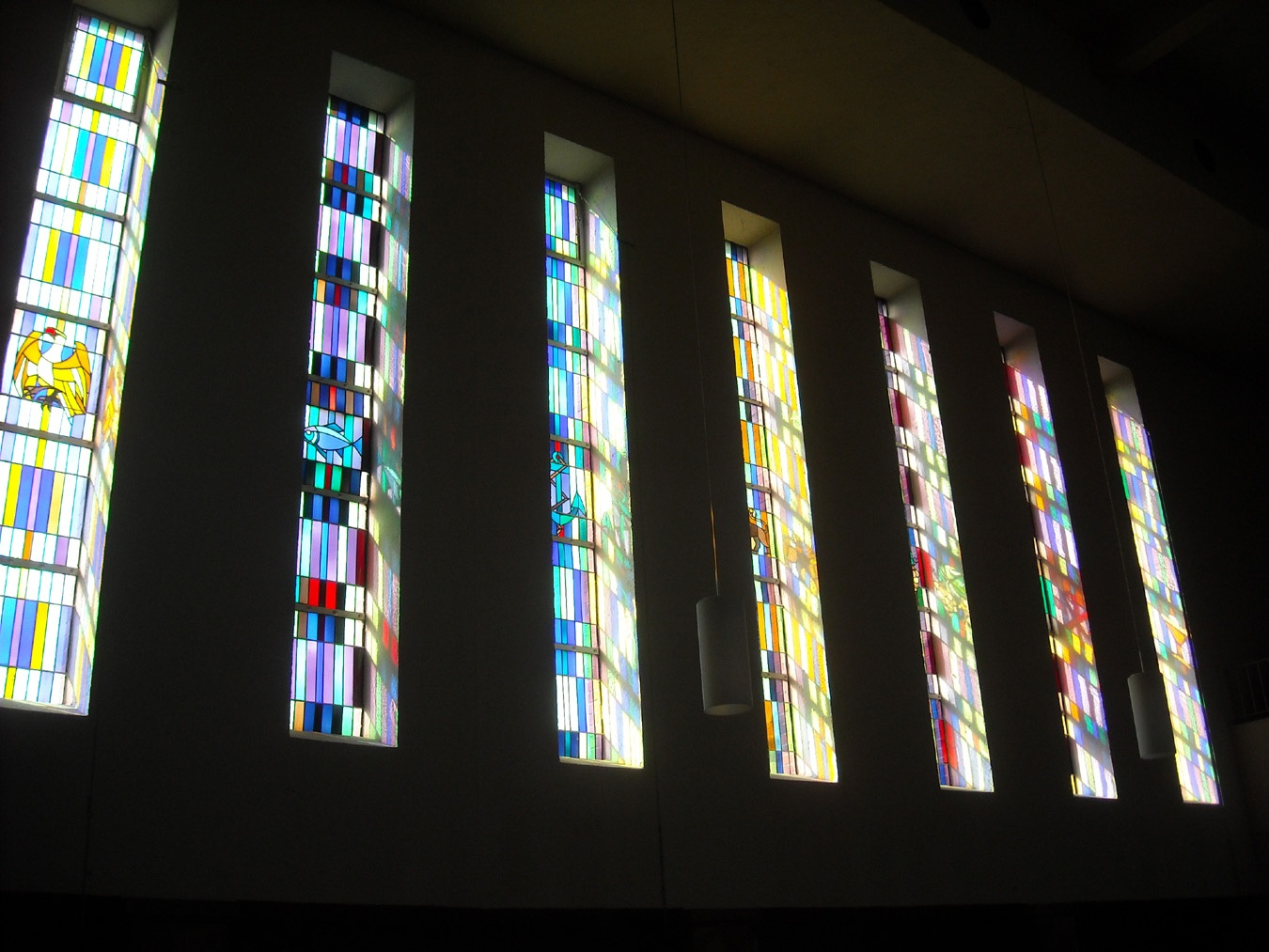 Fenster in der Klarenthaler Kirche