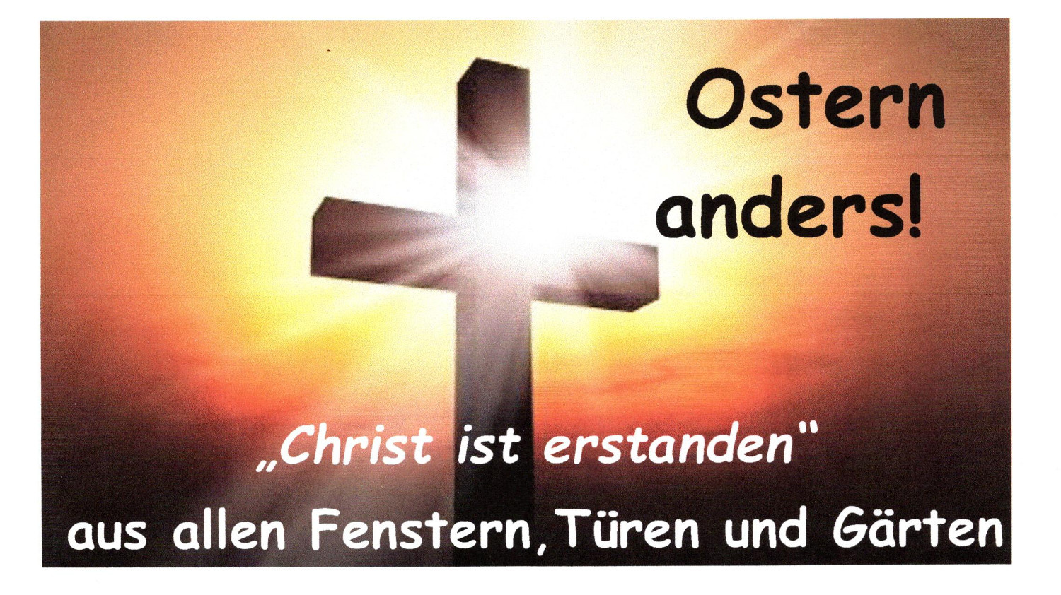 Ostern anders