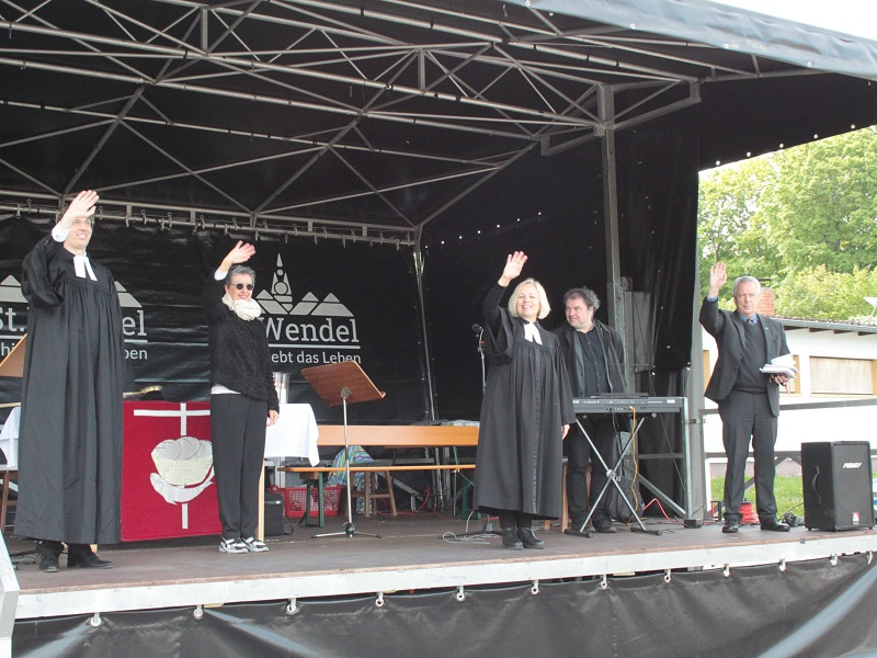 Autogottesdienst Sankt Wendel (Bilder: R. Eulenstein)