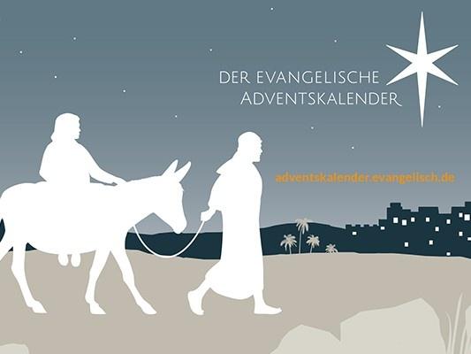 Eine Reise in die Heimat: Der evangelische Adventskalender