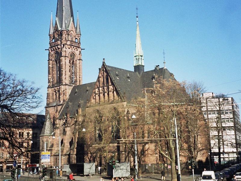 Start der Hochschulgottesdienste in der Saarbrücker Johanneskirche. Foto: EVKS