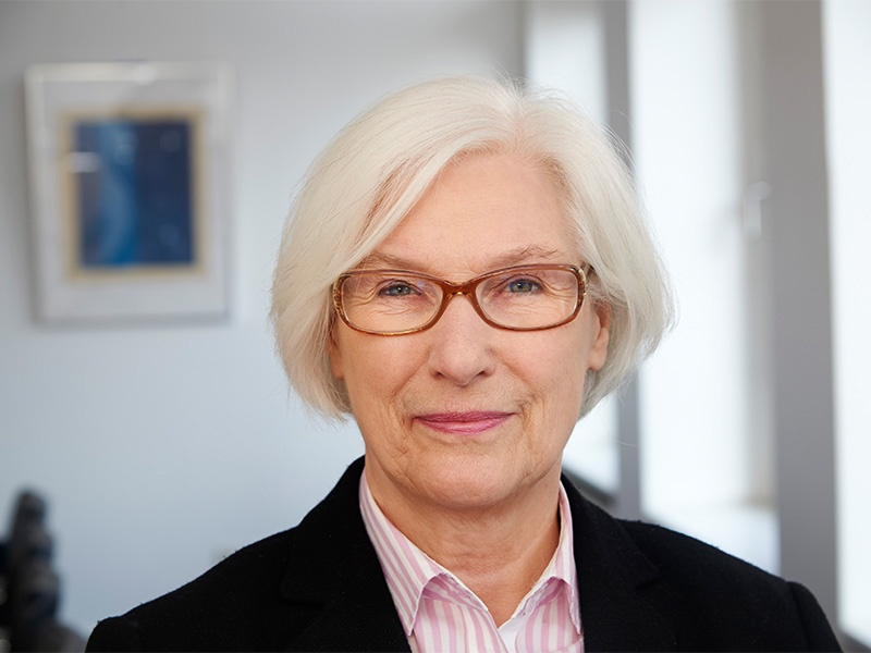 Irmgard Schwätzer, die Präses der EKD-Synode, Foto: EKD
