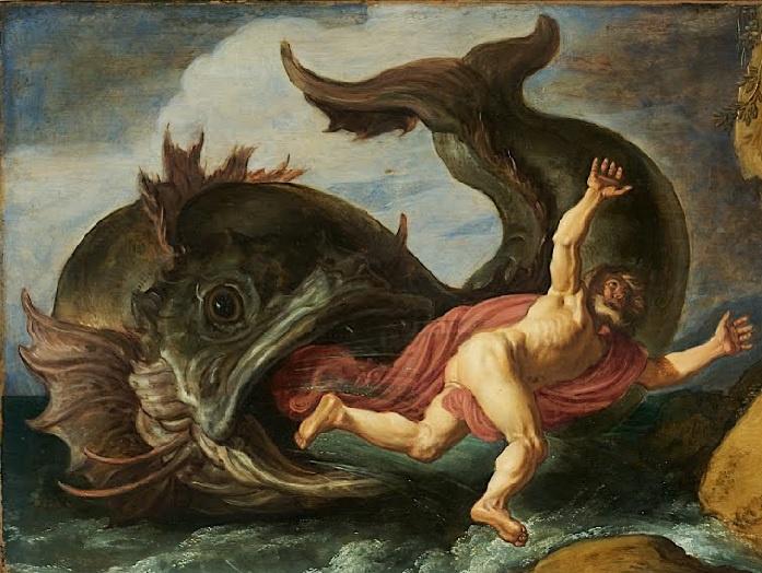 Pieter Lastmann, Jonah und der Wal, 1621, Museum Kunstpalast, Düsseldorf