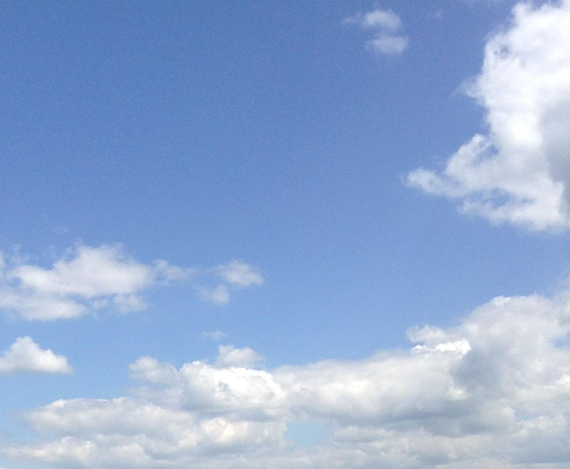 Der Himmel bei uns