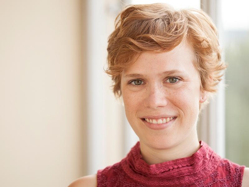 Xenia Preisenberger liegt besonders der Gesang am Herzen. Foto: Kathrin Sammtinger