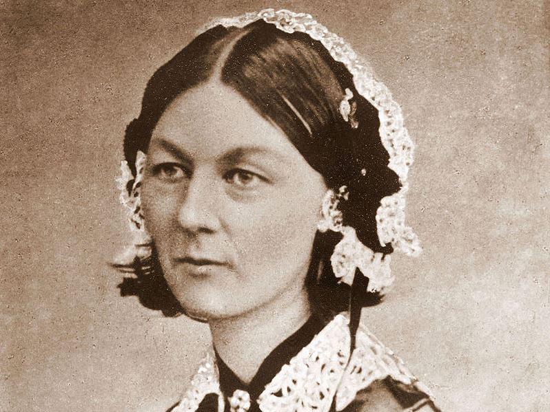 Florence Nightingale, eine Pionierin der Krankenpflege und Sozialarbeit. Foto: wikipedia.org/wiki/Florence_Nightingale