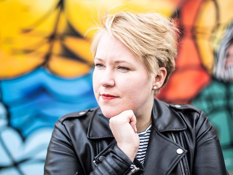 "Hanna Jacobs ist  Pfarrerin im ""raumschiff.ruhr"". Foto ekir.de / Marcel Kuß"