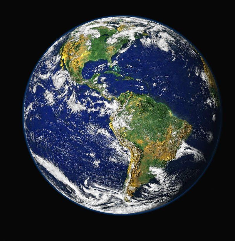 Wir sind eine Welt. Bild von WikiImages auf Pixabay