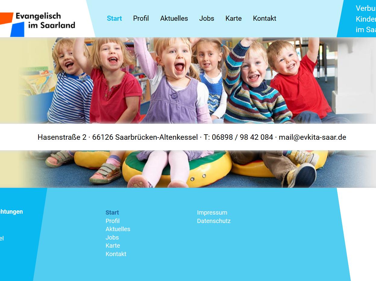 Kita-Verbund informiert auf neuer Homepage