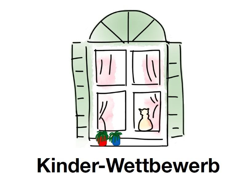 Osterfenster-Wettbewerb für Kinder