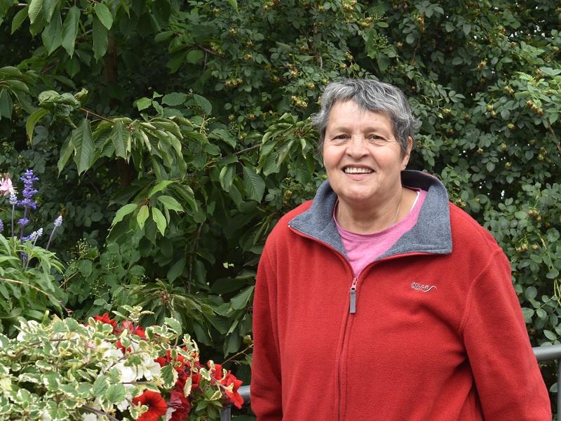 Margot Seibüchler ist seit fast 30 Jahren in der HuK Regionalgruppe Saar-Pfalz aktiv, Foto: Andrea Reinmann