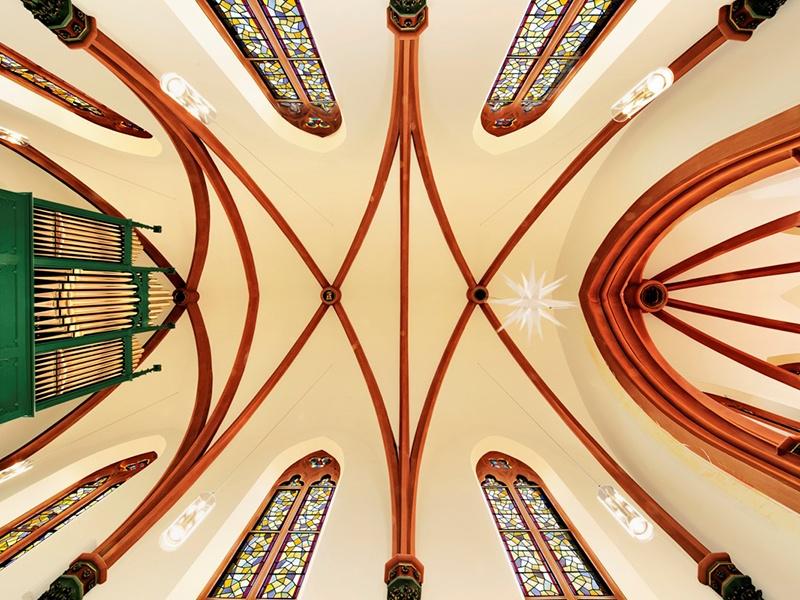 Der Gottesdienst am 29. März kommt aus der Freidenskirche in Merzig. Foto: Richner