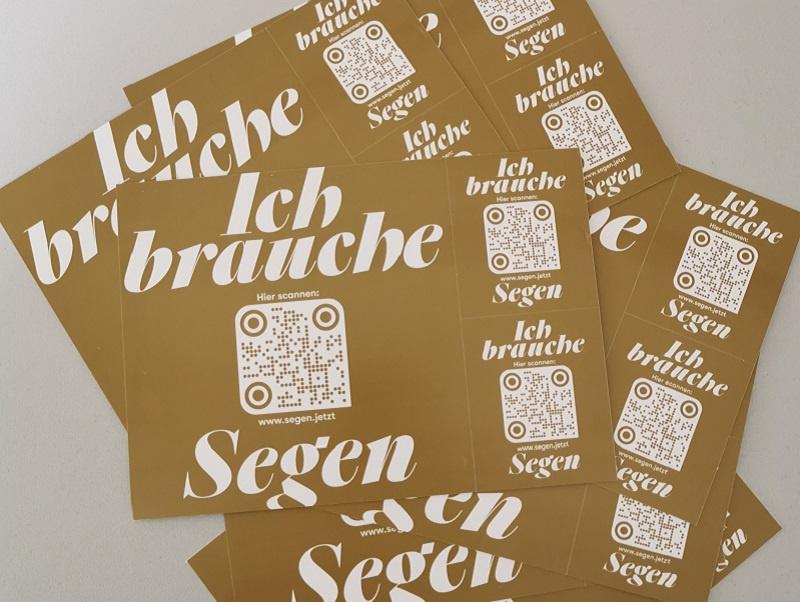 So sehen die Segenspostkarten aus Foto:evks/wk