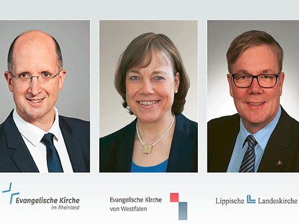 Klaus Mai, EKvW/Barbara Frommann, Heinz Wernecke/Lippisches Landeskirchenamt